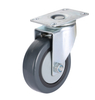 4'' Medium Duty PU Single Axis Swivel Caster Wheels