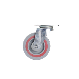 6 inchPP&TPR Sandwich Caster Wheel with bearing