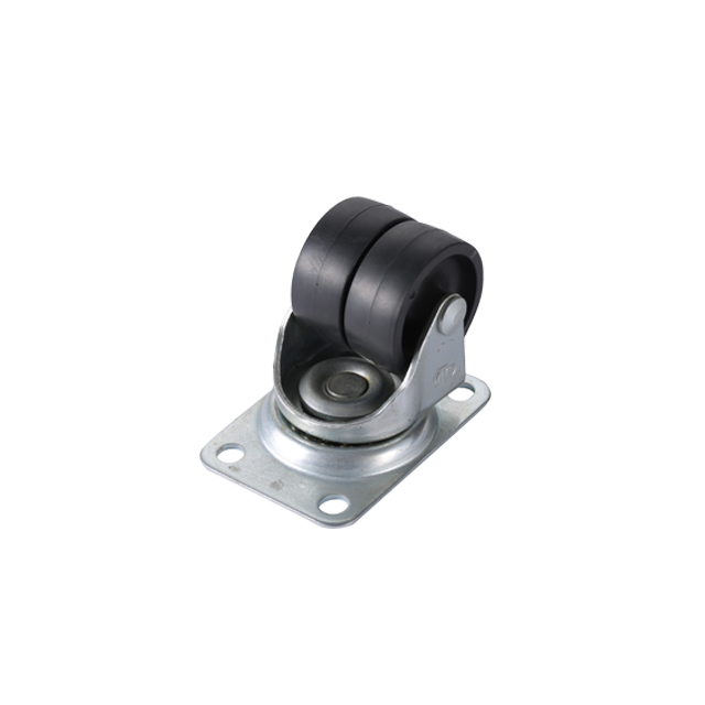 "2"" Low Profile PP Caster Wheel twin wheel"
