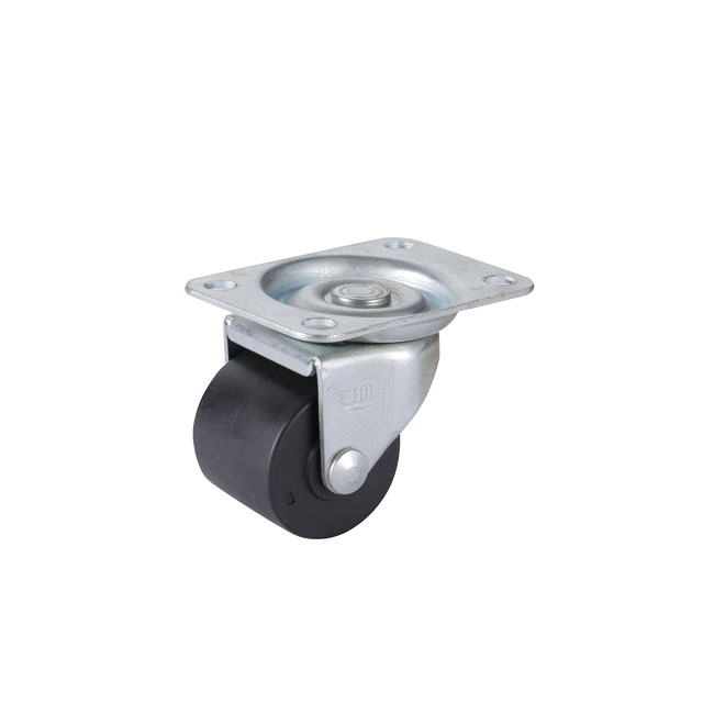 "3"" Low Profile Caster Wheel PA Material with roller bearing"