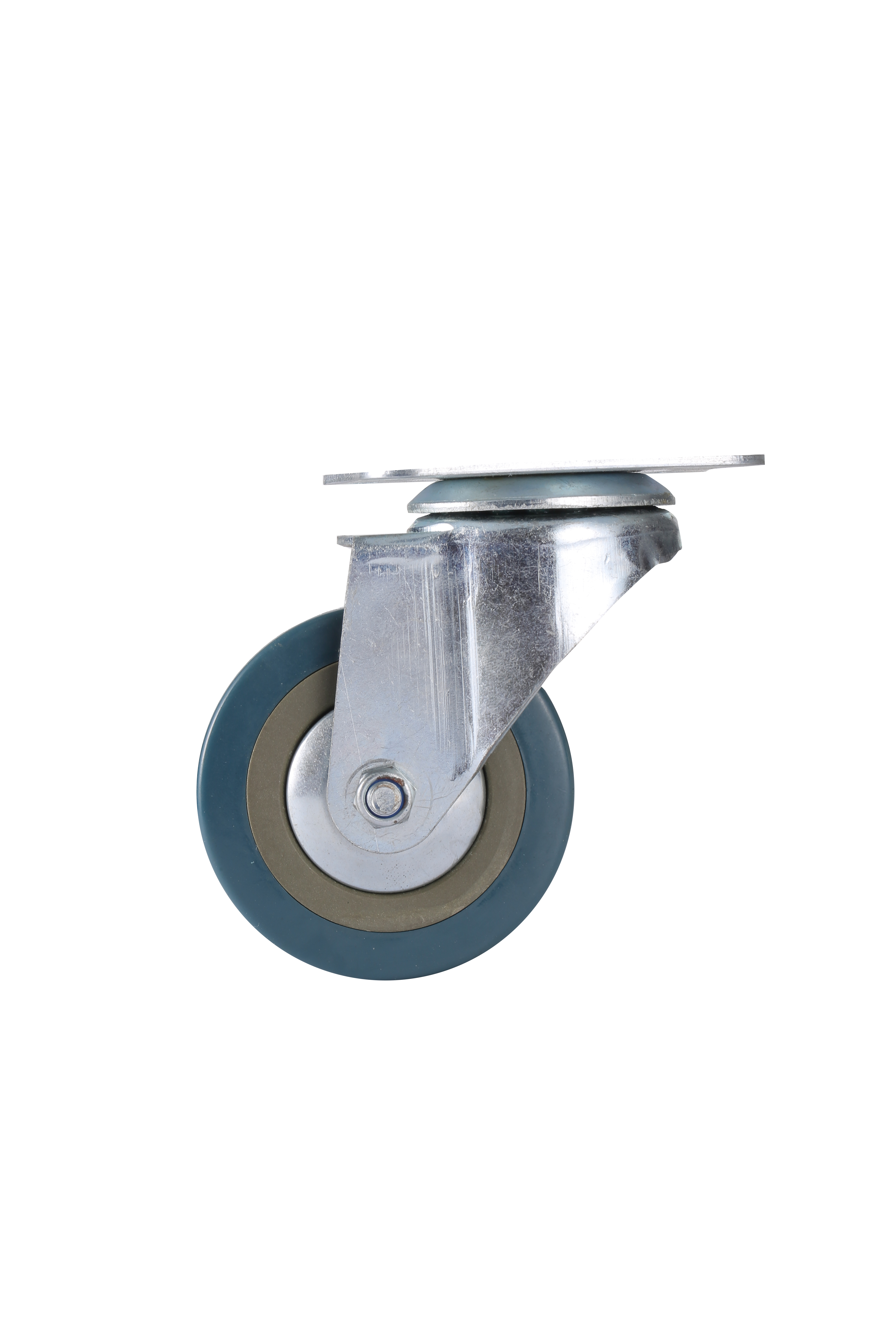 2.5'', 3'', 4'' Medium Duty PVC Caster Wheels for Shipping Container Dolly