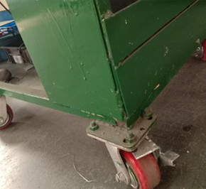 How to choose the right trolley caster wheel?