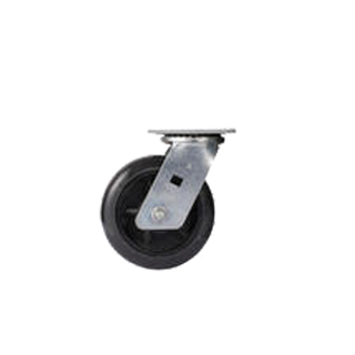 Heavy Duty Stanless Steel Rigid Fork PU TPR Caster Wheel