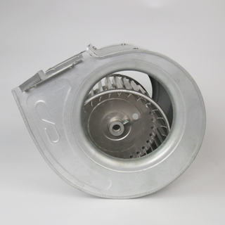 STP-120X160D Dual Inlets Galvanized Plate Housing Coil Fan