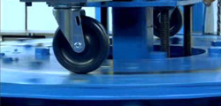 Why do caster wheel manufacturers test caster wheel before shipment?